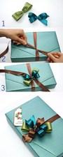 Cách thắt nơ ruy băng đơn giản mà cực xinh