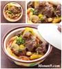 Cách làm bắp bò kho sả, dứa đơn giản mà ngon